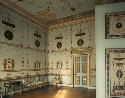 The Etruscan Dressing Room At Osterley Park Was Designed