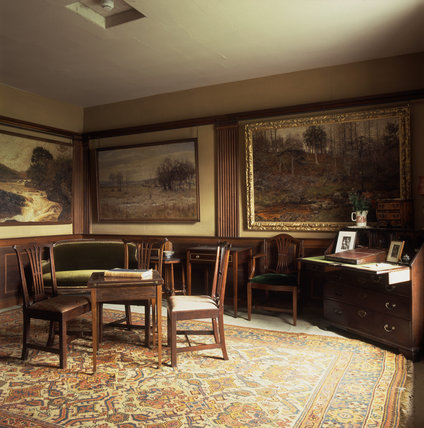 (FL) The new room at Hill Top used by Beatrix Potter for writing and drawing
