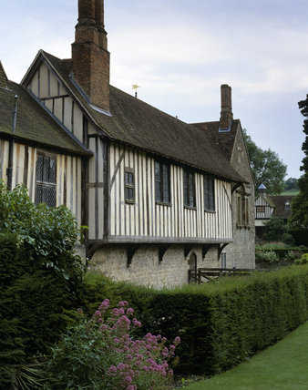 Part of the north front of Ightham Mote