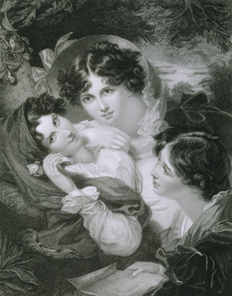 THE PROPOSAL, engraved by H Meyer, after painting by G H Harlow 1821