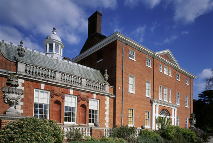 An oblique view of the house at Hatchlands, Surrey