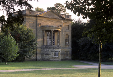 The Queen's Temple, at Stowe Landscape Garden