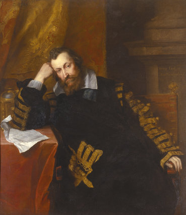 HENRY PERCY 9TH EARL OF NORTHUMBERLAND by Sir Anthony Van Dyck (1599-1641)
