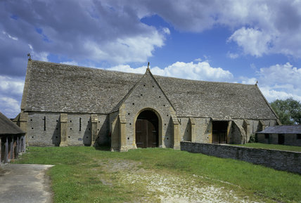 Middle Littleton Tithe Barn is one of the largest & finest C13th tithe barn in the country