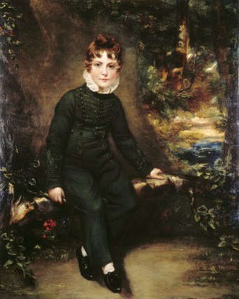 HENRY,LORD BORINGDON, son of the first Earl of Morley, (1806-1817), by Benjamin Burnell at Saltram