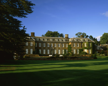 The Garden Front of Upton House, catching the late afternoon sun