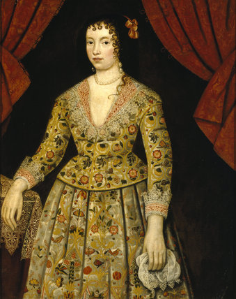 ELIZABETH CRAVEN, LADY POWIS, English C17th