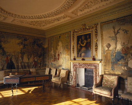 The Queen's Bedchamber at Ham House, after restoration