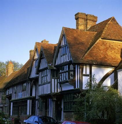 Houses in Chiddingstone, Kent