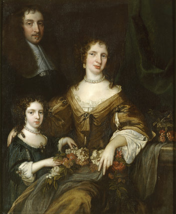 DR PETER BARWICK, WIFE AND DAUGHTER MARY painted by Jacob Huysmans