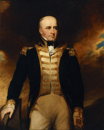 VICE-ADMIRAL LUKIN (afterwards Windham)(1768-1833) by George CLint