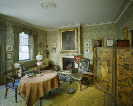 The Library Or Drawing Room At Carlyle S House Carlyle S