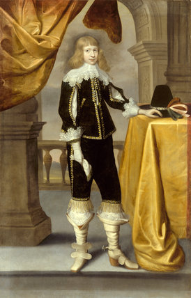 Portrait Of A Young Cavalier English 17th Century