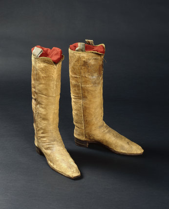 Edmund Kean's boots at Smallhythe Place