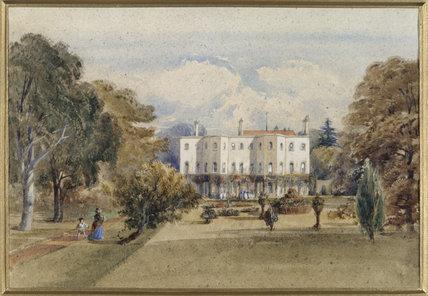 HUGHENDEN MANOR 1852 by Lord Henry Lennox (287), in the Disraeli Room