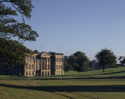 The South Front of Calke Abbey from the Park