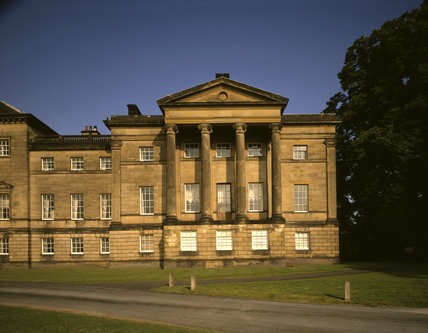 The north wing at Nostell Priory added by Robert Adam in 1779-80