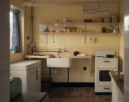 The kitchen at No.20 Forthlin Road