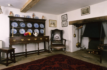 The Main Room at Hardy's Cottage