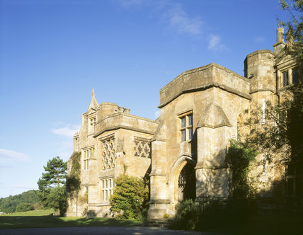 A view of the South Front of Clevedon Court