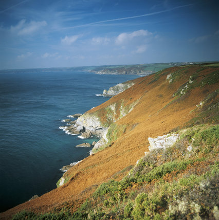 A view along the stretch of coast known as The Dodman