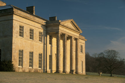 Front View of Philipps House (formerly Dinton House) Wilts