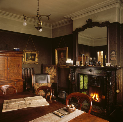 View of the Dining Room in Mr Straw's House