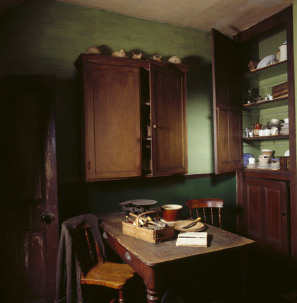 View of the kitchen in Mr Straw's House