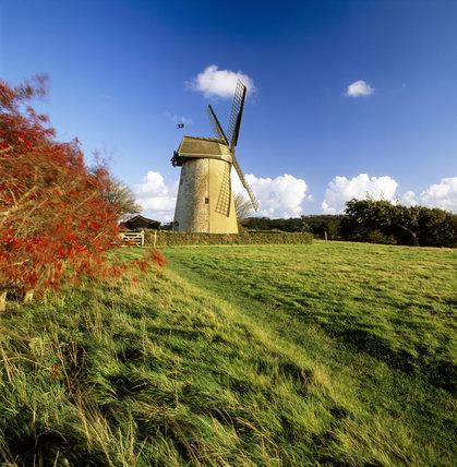 Bembridge Windmill, built c. 1700