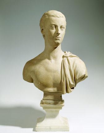Bust of John, Lord Hervey by Bouchardon, 1729, in terracotta