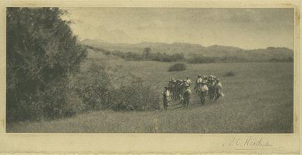 Ghurkas in Countryside