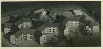 Unidentified Model of various buildings