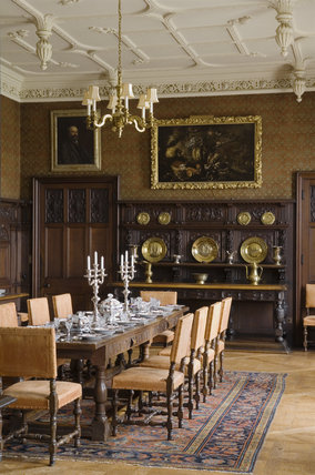 The Dining Room in the new house at Scotney