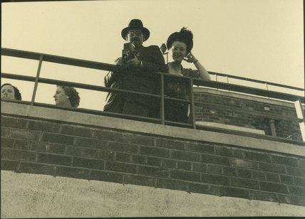 Edward Chambré Hardman & Margaret Hardman on Balco