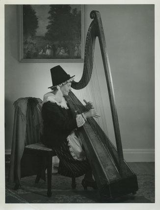 Welsh Harpist