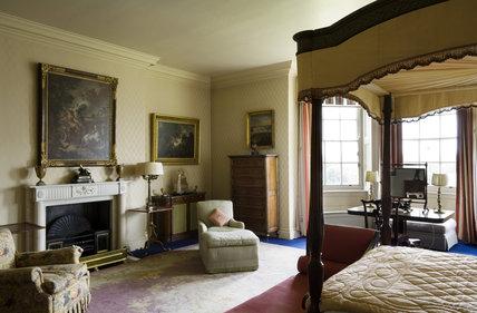 Ralph Dutton's Bedroom at Hinton Ampner, Hampshire