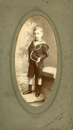 Edward Chambré Hardman as a child