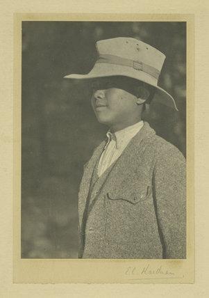 Portrait of a boy, India