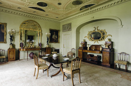 The Dining Room at Hinton Ampner, Hampshire
