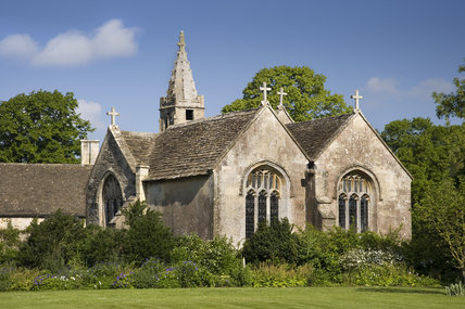 C14th Parish Church of All Saints at  Great Chalfield Manor, Wiltshire