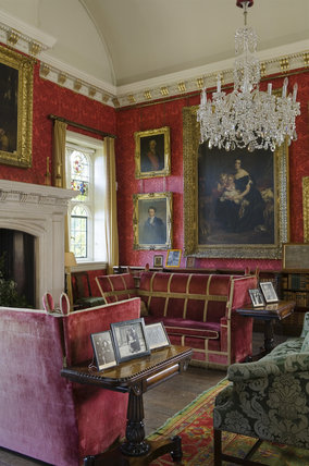 The Saloon at Coughton Court, Warwickshire