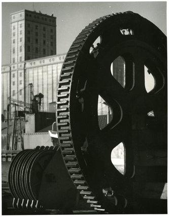 Large Cog Wheel, Brunswick Dock