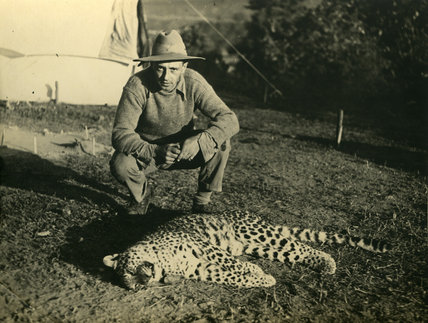 Kenneth Burrell and Leopard