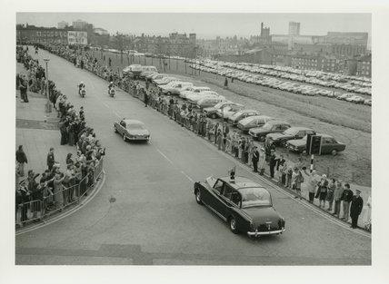 Queen Elizabeth II Visiting Liverpool II