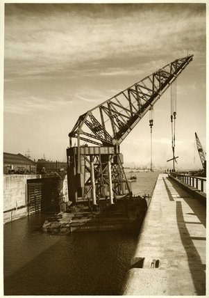 Floating Crane, Gladstone Docks, Liverpool