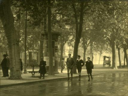 Street Scene, France