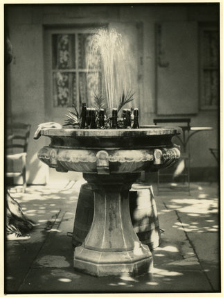 Fountain with Beer Bottles