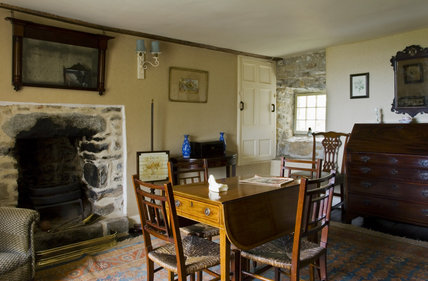 View of the Sitting Room at Plas yn Rhiw, Pwllheli, Gwynedd