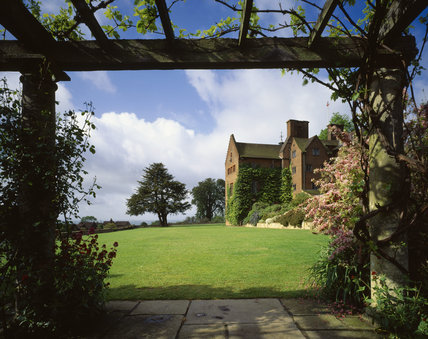 Chartwell, the garden front from the north, viewed from across the lawn