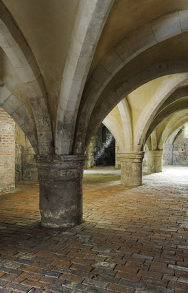 The Cellarium at Mottisfont Abbey, Hampshire